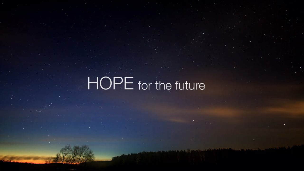 Hope for the future   Rick Ezell: Defining Moments